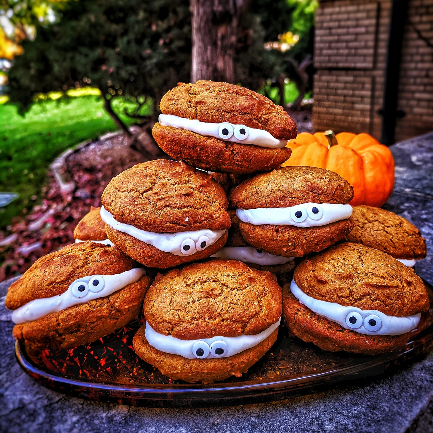 Fall Recipe Highlight: Halloween Pumpkin Whoopie Pies